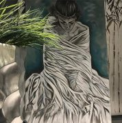 Frauengemälde Artwork Eva Kaschani