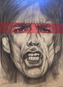 Mick Jagger Artwork Eva Kaschani