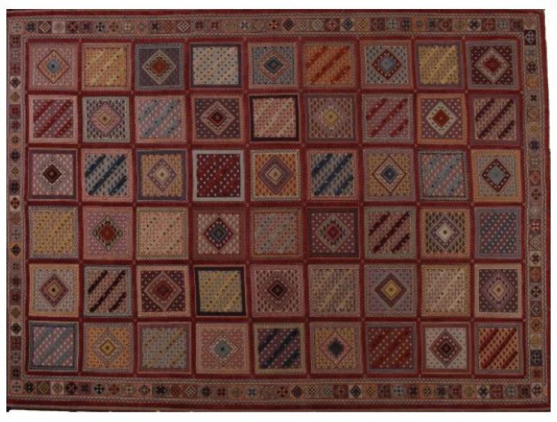 kostbarer Teppich