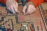 Detail Teppich neu knüpfen