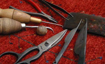 Fachwerkzeuge Teppichreparatur