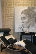 Kunst und Interior Kuhfell